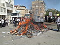 PikiWiki Israel 31382 Burning of Chametz (leavened food) in Bnei Brak.JPG
