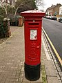 Pillar box, Deodar Road, Putney - geograph.org.uk - 1757408.jpg