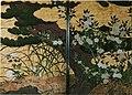Pine tree Flowering plants Chishakuin Tohaku.JPG