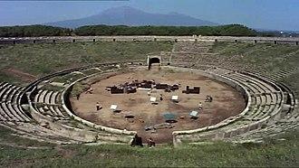 Amphitheatre of Pompeii - Pink Floyd live in Pompeii
