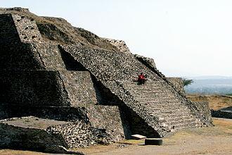 Toltec - Toltec pyramid at Tula, Hidalgo