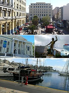 Piraeus Place in Greece