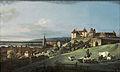 Pirna Die Festung Sonnenstein Öl auf Leinwand 1755-1760 Bernardo Bellotto.jpg