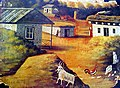 Pirosmani. Village (Cardboard 79x107).jpg
