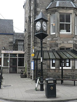 Pitlochry - Town clock