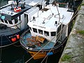 Pittenweem boats in harbour - geograph.org.uk - 331389.jpg