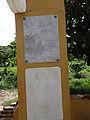 Placa conmemorativa el muelle de puerto Colombia.jpg