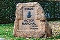 Plack Stade Victor Marchal, Téiteng.jpg