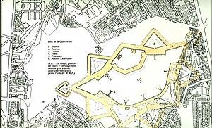 Fort de la Chartreuse - Plan, Fort de la Chartreuse