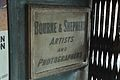Plaque - Bourne & Shepherd - 141 SN Banerjee Road - Kolkata 2016-06-23 5145.JPG