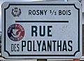 Plaque Rue Polyanthas - Rosny-sous-Bois (FR93) - 2021-04-15 - 1.jpg