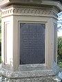 Plaque on Britannia Bridge memorial - geograph.org.uk - 2109474.jpg