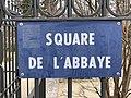 Plaque square Abbaye St Maur Fossés 2.jpg