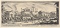 Plate 7- A town being sacked with church in the background, from 'The Large Miseries of War' (Les misères et les malheurs de la guerre) MET DP833463.jpg