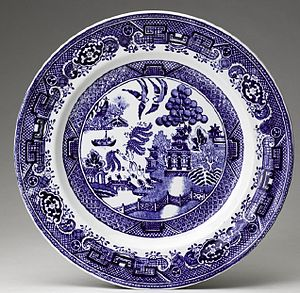 Willow pattern - Another version, Sweden