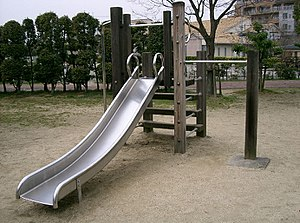 Playground slide - Playground slide in Japan