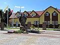 Podlaskie - Bielsk Podlaski - Bielsk Podlaski - Kościelna - Pomnik JPII.JPG