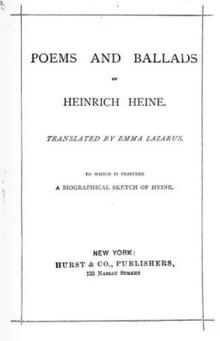 Emma Lazarus Wikipedia