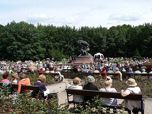 Poland Warsaw Łazienki Park 2