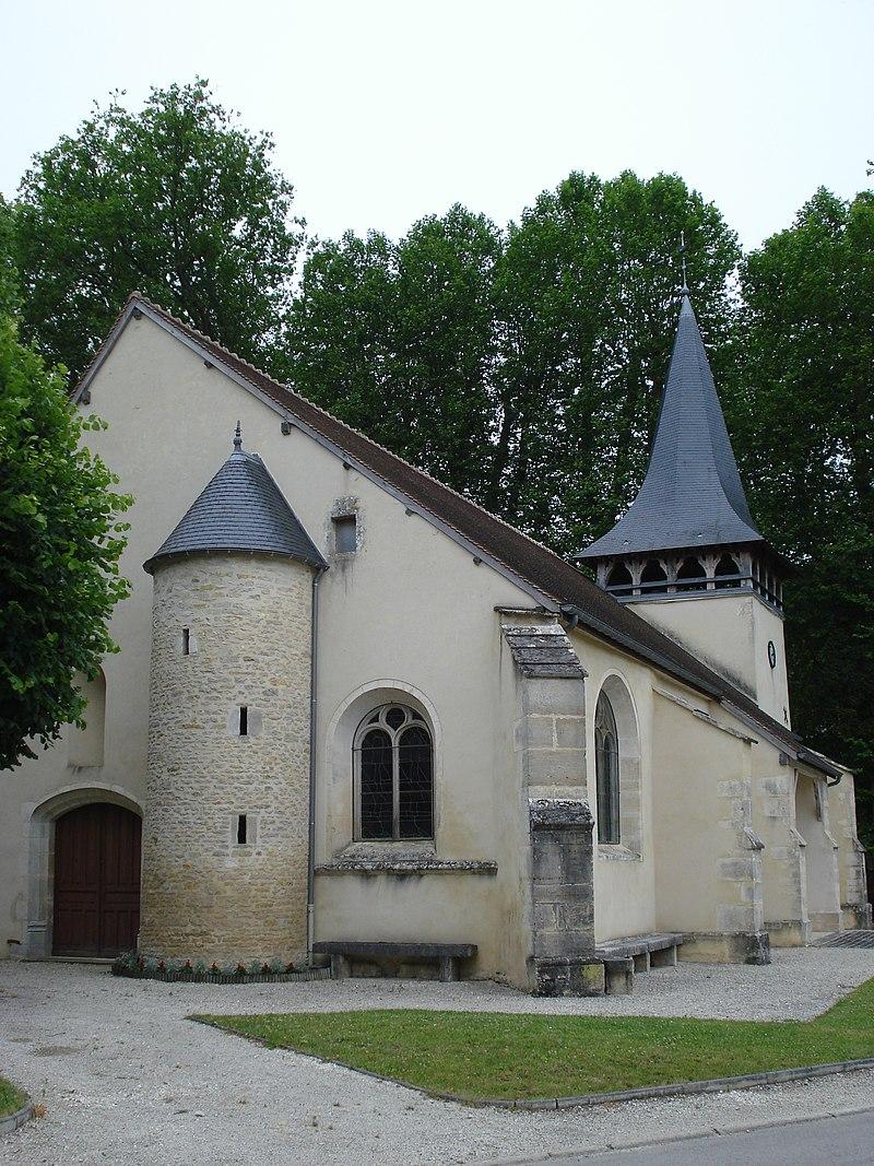 Polisy (Aube, Fr), l'église.JPG