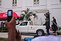 Pope Francis and his popemobile in Maputo 2019.jpg