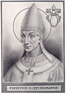 Pope Siricius