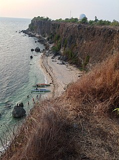 Poro Point point in the Philippines
