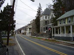 Port Deposit, Maryland - Historic buildings in Port Deposit