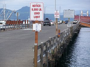 Astoria, Oregon - The Port of Astoria (2009).