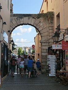 La Porta Guora - ultima testimonianza delle mura rinascimentali cittadine