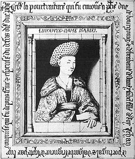 <i>Portrait of Isabella of Portugal</i> (van Eyck) painting by Jan van Eyck