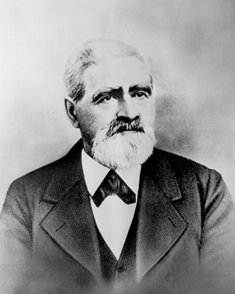 Isaac Lankershim - Image: Portrait of landowner Issac Lankershim, California (CHS 6651)
