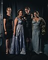 Portrait photoshoot at Worldcon 75, Helsinki, before the Hugo Awards – Carrie, Amal, Brooke, Miriam.jpg