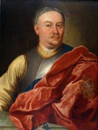 Baroque in Poland - Portrait of Jakub Narzymski by Szymon Czechowicz, 1738