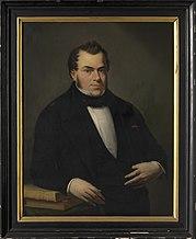 Portret van Jacques De Mersseman