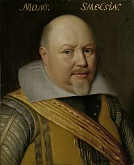 Portrait of Nicolaas Schmelzing (1561-1629)