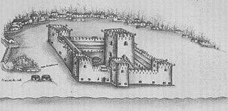 Afonso de Albuquerque - The Portuguese fort at Calicut