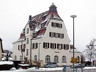 Neresheim - Former post-office Neresheim