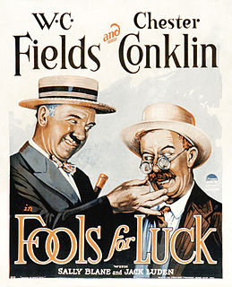 <i>Fools for Luck</i> 1928 film