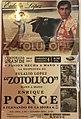 Poster of a bullfight - La Plaza Mexico.jpg