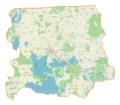 Powiat węgorzewski location map.png