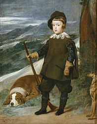 Diego de Silva y Velázquez: Prince Balthasar Charles as a Hunter