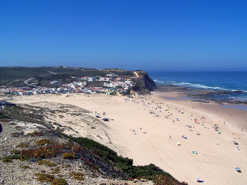 Image:Praia do Monte Clérigo - I.jpg