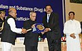 Pranab Mukherjee presented the National Awards for Outstanding Services in the field of Prevention of Alcoholism and Substance (Drugs) Abuse, 2014, at a function (1).jpg