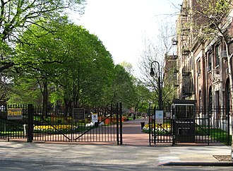 Pratt Institute - DeKalb Avenue Gate of Enclosed Campus
