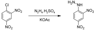 2,4-Dinitrophenylhydrazine - Image: Preparation of 2,4 DNPH