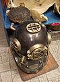 Presentation and sail of sponges in Symi - old diver's helmet.jpg