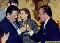 "President Joseph ""Erap"" Ejercito Estrada offers a toast to Argentine President Carlos Saul Menem.jpg"