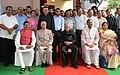 President Pranab Mukherjee with Krishan Kant Paul and Trivendra Singh Rawat.jpg
