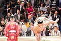 President Trump and First Lady Melania Attend a Sumo Tournament (47958676827).jpg